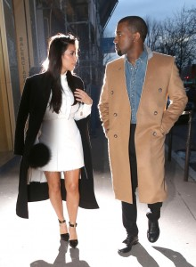 Kim Kardashian & Kanye West Head To Stephane Rolland's Showroom