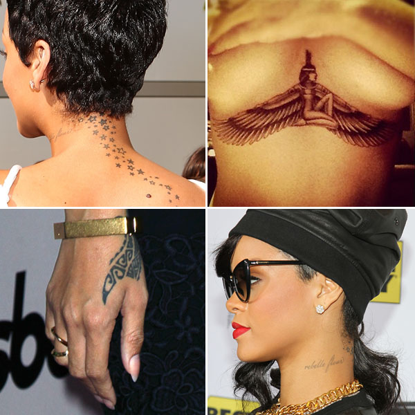 Rihanna-Tattoos