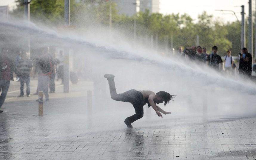 THE TELEGRAPH 3 Haziran 2013 Fotoğraf: AFP