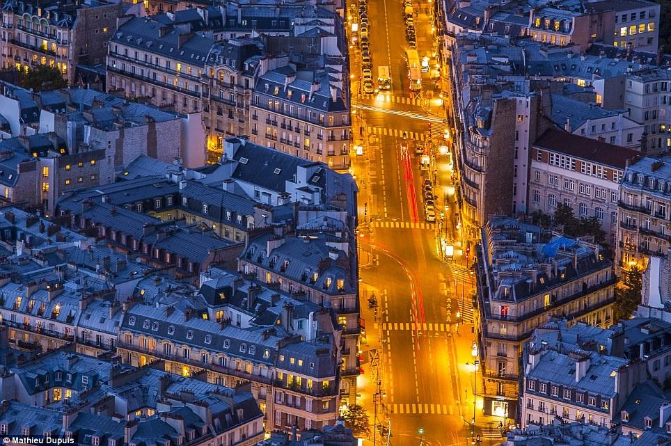 Paris'ten bir enstantane... Yok böyle güzellik?