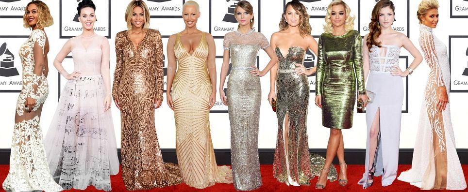 (soldan sağa) Beyonce, Katy Perry, Ciara, Amber Rose, Taylor Swift, Chrissy Tiegen, Rita Ora, Anna Kendrick ve Paris Hilton.