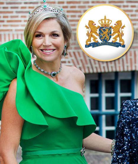 Kraliçe Máxima... 43 yaşında...