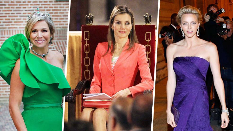 En güzeli hangisi? Maxima (solda), Letizia (ortada) ve Charlene (sağda) mi size göre en güzel kraliçe?