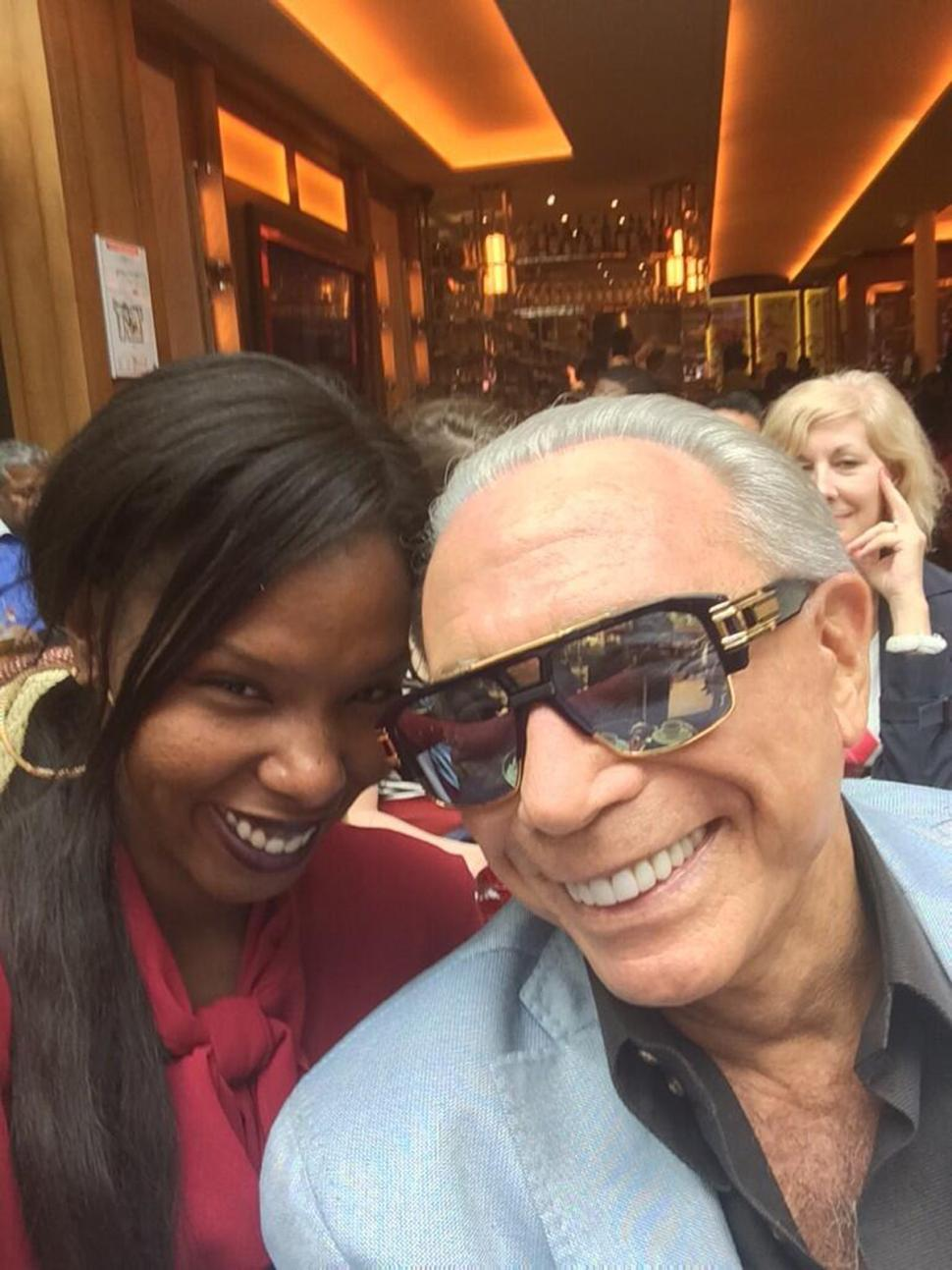 76 yaşındaki George Teichner ve 25 yaşındaki sevgilisi Dana Cody...