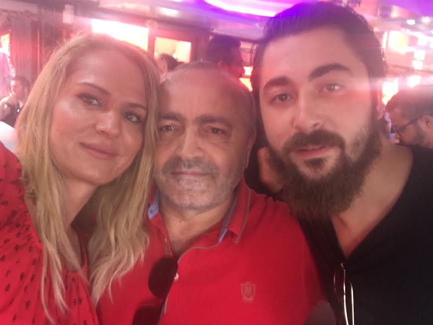 SURVIVOR 2016'NIN YILDIZLARI NAGİHAN AKDERE VE SEMİH ÖZTÜRK...